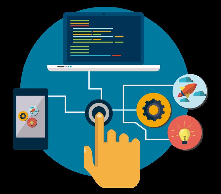 tecnologias de desarrollo implementadas en Systems Services